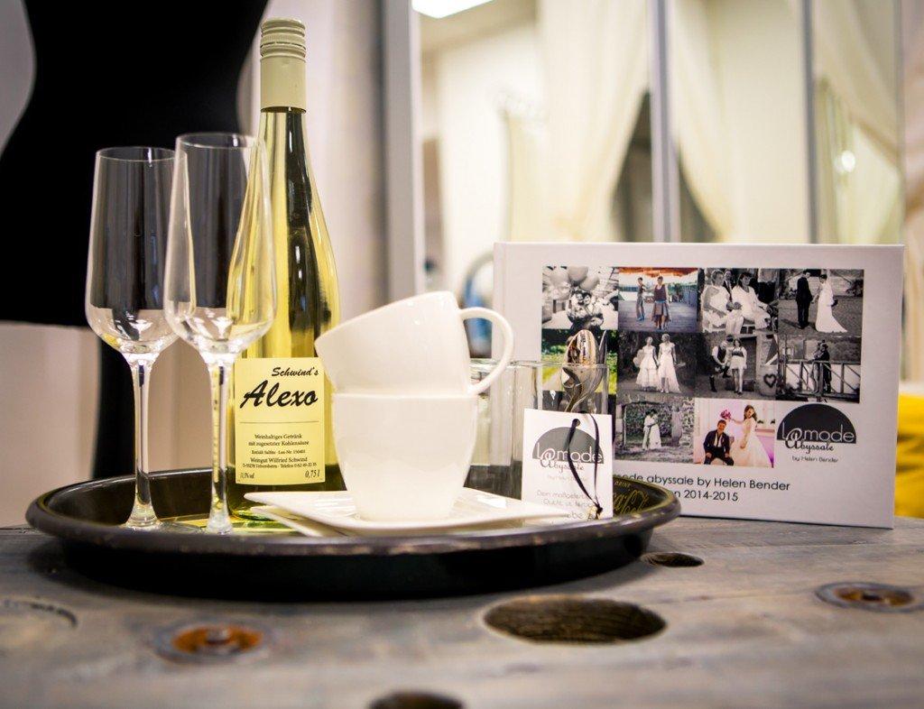 Wir begrüßen dich mit köstlichem Winzersecco vom Weingut Schwindt
